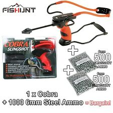 Barnett Cobra Slingshot / Wrist Strap & Sight System The Black Widow Makers