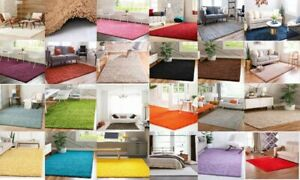 Large Living Room Thick Shaggy Shag Rugs Bedroom Non Slip Hallway Runner Carpet