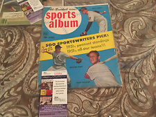 SPORTS ALBUM MAGAZINE SIGNED WITH JSA COA GEORGE KELL HOF DETROIT TIGERS