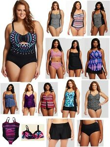 Details about  /Ava /& Viv Plus Swim Bikini Top Americana 16W Stars Stripes Red White Blue