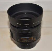 Nikon 35mm f/1.8G AF-S DX Lens for Nikon Digital SLR Cameras Work Great
