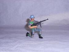 Figurine Vintage LANARD type G.I JOE Soldat Colombien avec accessoires 1986