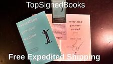 SIGNED Everything You Ever Wanted A Memoir by Jillian Lauren, autographed, new