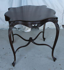 Antique Mahogany Parlor Small Table – original finish