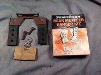 Rear muffler hanger kit 1960 1970 1980 all makes and models Ford GM Chrysler
