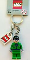 GENUINE LEGO THE RIDDLER FROM BATMAN MINIFIGURE KEYRING KEYCHAIN (GREY TAG) RARE