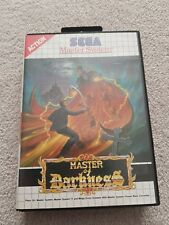 Master Of Darkness For Sega Master System Boxed