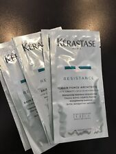 5 Samples of Kerastase Resistance Bain Force Architecte Shampoo Travel 5 x .34