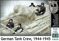 German Tank Crew, 1944-1945, WWII era (5 figures)  1/35 MasterBox 35201