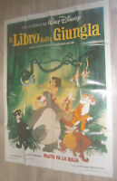 XXL Filmplakat  IL LIBRO DELA DIUNGLA ,THE JUNGLE BOOK  WALT DISNEY,ZEICHENTRICK