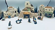 "Department 56 ""Little Town Of Bethlehem"" Set Of 12 Heritage Village #5985-7 New"