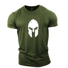 Men Sport Training Cotton T-shirt Short Sleeve Gym Running Fitness Slim Tees Top