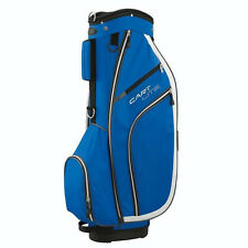 Wilson Cart Lite Golf Bag - Blue / White Trim / 5-Way Divider wtih 5 Pockets