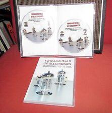 Fundamentals of Electronics 2 DVDs for DIY amplifier valve tube transformers