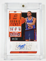 MIKAL BRIDGES 2018-2019 Panini Contenders ROOKIE TICKET Auto and Swatch #09of10