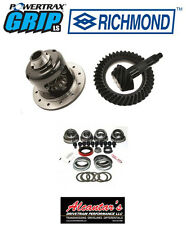 "GRIP LS POSI + RICHMOND EXCEL 3.73 GEARS + FREE MASTER KIT GM 10 BOLT 8.5"" 30SPL"