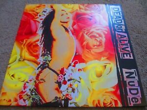 """Dead Or Alive - Nude 12"""" LP BRAND NEW & Mint Condition"""