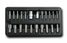 ASTA 22pc Torx Plus/ Torx Plus Security Insert Bit Set S2 Steel TPS10-TPS60