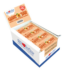 MA BAKER | Giant Bar Apricot &Yogurt topped 100g (20 bars) | FREE DELIVERY