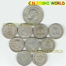 Rare 10 Different Copper-Nickel 5 Rupees Commemorative Five Rupees Coin Lot