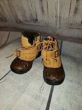 Timberland Toddler size 6 Lace Up Hiking Work Boots waterproof NEW! 2985