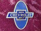 Vintage Original Chevrolet Chevy 1929-1931 Porcelain Emblem Rat Rod Radiator Cap