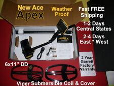 New Garrett Ace Apex Metal Detector In Stock Fast Free Shipping