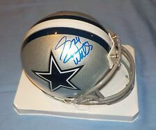 Dallas Cowboys Everson Walls Signed Autographed Mini Helmet COA