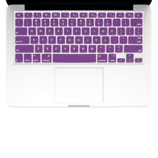 "UNIK CASE-Silicone Keyboard Cover for Macbook Pro 13"" 15"" 17""Unibody-Purple"