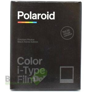 Polaroid Color i‑Type Film 8 Instant Photos Black Frame Edition