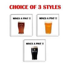 Fun Pint Glass Drink Coaster Choice of 3