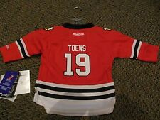 CHICAGO BLACKHAWKS JONATHAN TOEWS REPLICA JERSEY INF 12-24 MONTHS NEW WITH TAGS