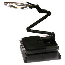 Integy C23474 Universal Workstation Car Stand w/LED Light & Magnifying Len