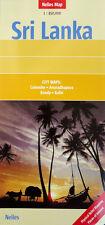 NEW 2008 Nelles MAP OF SRI LANKA~City Maps: Colombo, Anuradhapura, Kandy, Galle