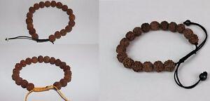 REAL Rudeaksha Rudraksha Bracelet Beads Prayer Wrist Bracelets Handmade Nepal