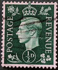 Stamp Great Britain 1937 1/2d King George VI Used