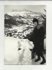 91718 FOTOGRAFIA FOTO ORIGINALE borca di cadore