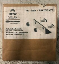 DPW Solar Racking Rail Splice Kit SP SPK (20 Pieces)