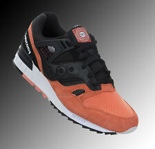Saucony Men's GRID SD Shoes NEW AUTHENTIC Black Salmon S70224-1 Size 13