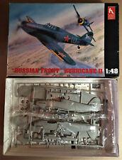 """HOBBYCRAFT HC1534 - """"RUSSIAN FRONT"""" HURRICANE II - 1/48 NUOVO"""