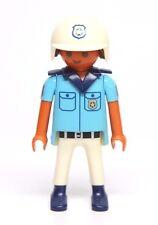 Playmobil Figure Beach Patrol Police Officer w/ Helmet 3655
