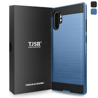 For Samsung Galaxy Note 10+ Plus, Phone Case TJS Legency Brushed Hybrid Cover
