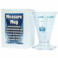 International Measuring Beaker - Measures ML Pints cups oz tsp tbsp beaker cup