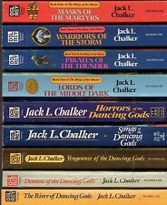 40 JACK L. CHALKER Well of Souls GOD Inc Soul Rider Dancing Gods Changewinds lot