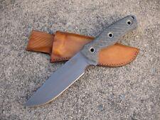 Swamp Rat Knife Works Ratmandu CG Custom Molded Leather Knife Sheath TAN - USA