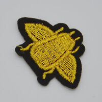 Mini Insect Embroidered Iron on patch sewn For clothing applique Hat Motif shirt