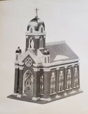 Dept 56 Christmas In The City Series - Holy Name Church Nyc w/ Box & Light