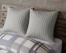 """Ink + Ivy Quilted Camila Euro Pillow Sham 26""""x26"""" Blue"""