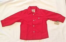 Levi Strauss And Co. Baby Boys' Work Solid Button-Down Long Sleeve 18M