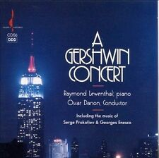 A Gershwin Concert / Danon Lewenthal by Raymond Lewenthal CD Chesky NEW & SEALED